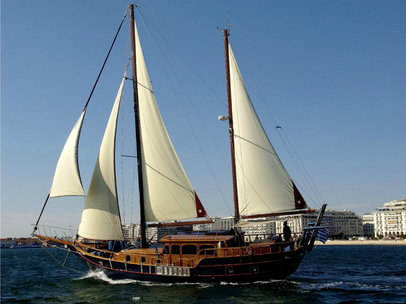 Traditional Wooden Greek Sailing Boat Instayacht
